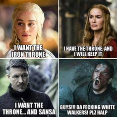 Will somebody please listen to Jon Snow?! Game of Thrones.