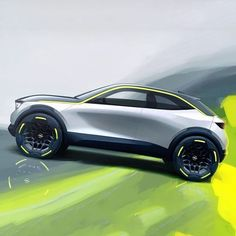 The GTX Experimental is loaded with strong graphics and bold colorways to underscore its youthful identity. The GTX Experimental is loaded with strong graphics and bold colorways to underscore its youthful identity. Car Design Sketch, Car Sketch, Opel Gt, Design Autos, Automobile, Car Drawings, Drawing Sketches, Automotive Design, Auto Design