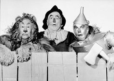 Bert Lahr, Ray Bolger, and Jack Haley for The Wizard of Oz (1939)