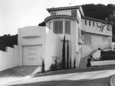 Historic Photograph of 2366 Castillian Dr. In The (amazing) Outpost Estates neighborhood. Hollywood