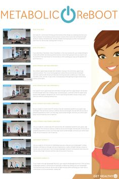 Are you ready to jump-start your metabolism and start burning calories while getting stronger? Then you're ready for Metabolic Reboot! If you follow this 28-day high intensity interval training routine, we'll show you exactly which workouts from the Metabolic Reboot Program to do each day to start seeing results.