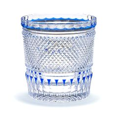 Rock Glass Color:Azure Blue
