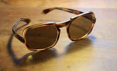 Vintage Brillen - Original 70er Jahre Sonnenbrille - ein Designerstück von Pfaennle bei DaWanda