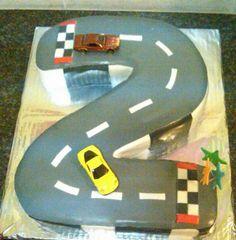 Wonderful 2nd birthday cake for a boy