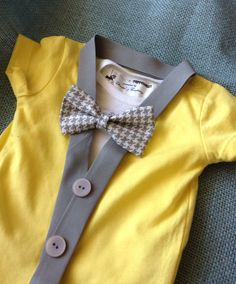 Felix- Baby Boy Clothes - Newborn Outfit - Baby Shower Gift - Trendy - Preppy - Cardigan - Bow tie - Photo Prop on Etsy, $31.99