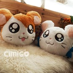 西米果 情人礼物 情侣哈姆太郎 公仔 田鼠抱枕 毛绒玩具 送人礼物-tmall.com天猫
