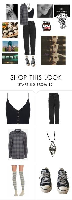 """Untitled #772"" by akts on Polyvore featuring Zimmermann, Topshop, IRO, Free People, Converse and jared"