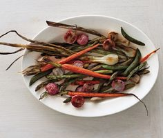 Roasted Spring Vegetables Photo - Healthy Spring Side Dishes Recipe   Epicurious.com