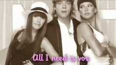 all i need is vos (letra) - casi angeles