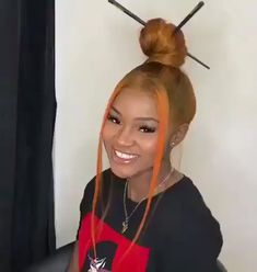 Mark a friend who would make tbis vibrate - Afro Hair Baddie Hairstyles, Ponytail Hairstyles, Weave Hairstyles, Bangs Ponytail, Weave Ponytail, Hairstyle Ideas, Hair Ideas, Short Hairstyles For Thick Hair, Black Girls Hairstyles