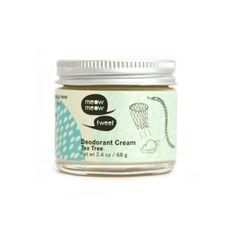 Déodorant crème à l'arbre à thé | Meow Meow Tweet