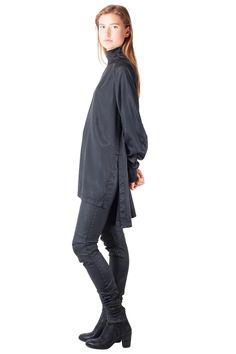 Keta Gutmane - Satin shirt // AW15 // Shop at Sprmrkt Amsterdam