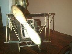 SO RUSTIC...#Copper Music Box #Vintage #Airplane by JennieJamesResale on Etsy, $30.99