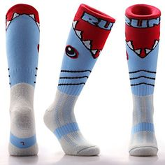 65f188336f7 Samson Hosiery Funky Shark Pattern Socks Casual Wear Soccer   Check out  this great product. This is an affiliate link.