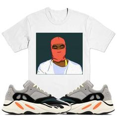 sports shoes 80340 39f2b YZY Sneaker Tees Shirt - Yeezy 700 Wave Runner