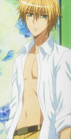 Pin by anais plaza on kaichou wa-maid sama Anime Sexy, Anime Sensual, Girls Anime, Hot Anime Boy, Cute Anime Guys, Manga Girl, Anime Shojo, Fanarts Anime, Haikyuu Anime