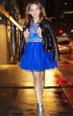 e659a8fa4a Spring Dress - Petite Adele - Ellen Tween Dress in Royal Blue Size 10   fashion