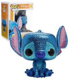 Disney Lilo and Stitch Diamond Collection Glitter Stitch Funko Pop Vinyl Disney Lilo und Stitch Diamond Collection Glitzerstich Funko Pop Disney Pop, Disney Pixar, Disney Stuff, Cadeau Disney, Lilo Und Stitch, Funko Pop Dolls, Pop Figurine, Funk Pop, Pop Toys