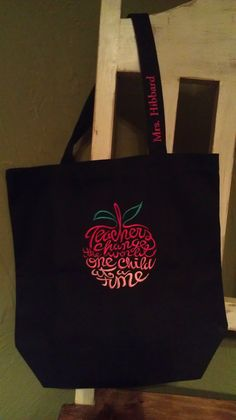 Teacher's Tote Bag