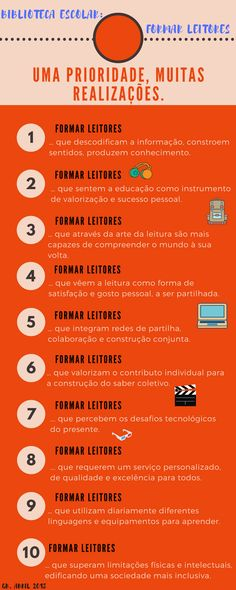Maria da Graça Barão Santos Costa -Biblioteca escolar: prioridade Formar leitores! Costa, Person Success, Reading Room, Saints, School Libraries