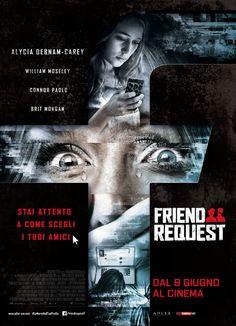 Friend Request, il film di Simon Verhoeven con Alycia Debnam-Carey e William Moseley, dall'8 giugno al cinema.