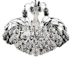 LightInTheBox European-Style Luxury 3 Light Chandelier With Crystal Balls, Ceiling Light Fixture with Bulb Included fit for Dining Room, Bedroom, Living Room