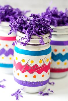 Easter Mason Jars Pa