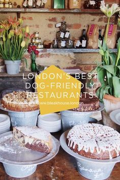 The Bleak House guide to the best dog-friendly restaurants in London