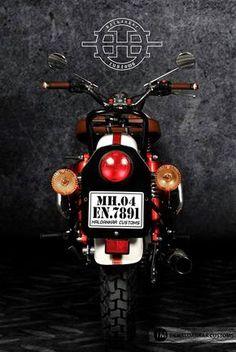 Encode Royal Enfield Classic 500 - Haldankar Customs recently came up with this awesome modification of Royal Enfield Classic 500 and they named it encode