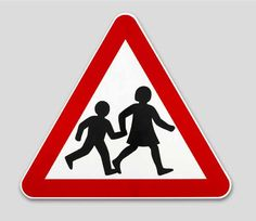 6.Children crossing sign, designed by Margaret Calvert and Jock Kinneir for the Ministry of Transport, 1964 ©   From British Design, 1948-2012, V