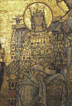 CHIESA DELLA MARTORANA (Palermo) - Mosaic dettail