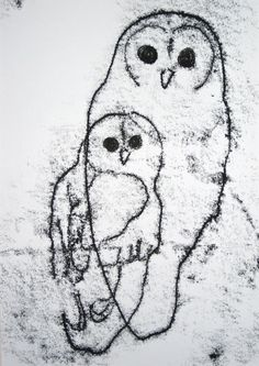 One of a kind Owl Print by Lucy Ann Hobbs $46.91