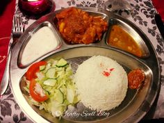 dinner at nepalese restaurant