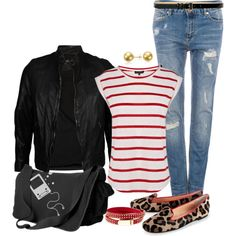 """""""Back to School: First Day Outfit"""" by angela-windsor on Polyvore"""