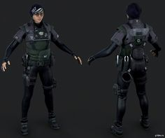 [help] How should I start making my Dokkaebi armor? I don't know exactly how to exactly create a pattern for her armor to foam. 3d Model Character, Character Modeling, Character Concept, Character Art, Character Design, Rainbow Six Siege Anime, Rainbow 6 Seige, Zbrush, Female Armor