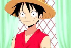 Monkey D. Luffy, his smile ☺️