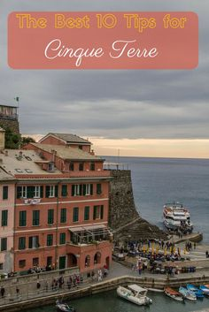 Who is ready to go to dreamy Cinque Terre?  These five stunning coastal towns have killer views, scrumptious foods, and the friendliest folks in the Meditteranean coast.  Click here to read our top ten tips of what to do and see in this beautiful Italian region! ~ReflectionsEnroute