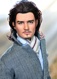 Orlando Bloom  Noel Cruz is one of the most versatile & distinguished repaint artists in the doll community. He is most recognized for his character & celebrity based dolls due to their uncanny resemblance to the people they portray. His dolls are de I like this one Check out this cool celebrity blog: http://www.famouscelebrities.net