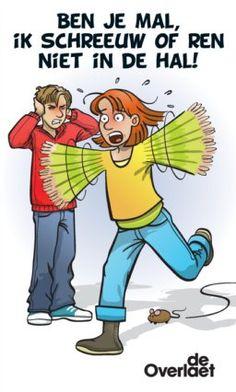 Niet schreeuwen in de hal. Education, School, Poster, First Class, Schools, Educational Illustrations, Learning, Posters, Onderwijs