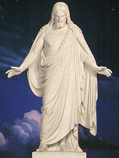 Christus Statue,  Christ with outstretched hands, Temple Square, Salt Lake City
