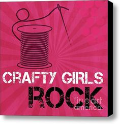 Crafty Girls Rock! Good for teens and tween's rooms.