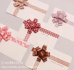CardNation~手作りカードで繋ぐ「心」-マスキングテープ 手作りカード
