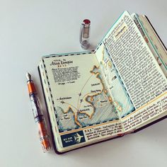 Handmade Sketchbooks Teeming with Colorful Calligraphy, Diagrams, Sketches, and Travel Ephemera by José Naranja | Colossal
