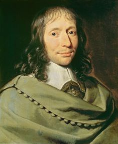 """Blaise Pascal (1623-1662), French philosopher and scientist, famous for his book """"Pensées"""" (literally """"thoughts""""), a collection of fragments on theology and philosophy. He was a child prodigy who was educated by his father. Pascal's ascetic lifestyle derived from a belief that it was natural and necessary for a person to suffer. According to Pascal's wager, if God exists it is best to be a believer."""