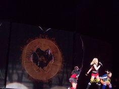 Madonna singing Heart Beat
