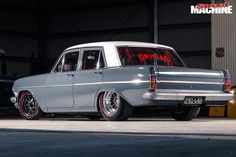 A home-built EH Holden that wields enough all-motor grunt to wake the dead Holden Muscle Cars, Aussie Muscle Cars, American Muscle Cars, Holden Wagon, Hq Holden, Holden Australia, Station Wagon Cars, Australian Cars, Old School Cars