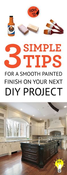 If you're looking for that smooth painted finish for your next DIY project, look no further. Getting a brush stroke-free...  Read more »