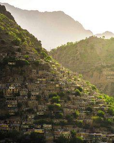روستاى پلكانى و تاريخى اورامان، كردستان