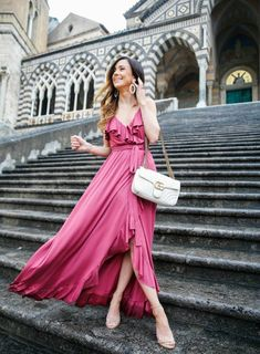"With the spring wedding season pretty much to start, numerous a lady is investigating her wardrobe and supposing, ""I don't … Cocktail Bridesmaid Dresses, Long Cocktail Dress, Cheap Wedding Guest Dresses, Cheap Dresses, Long Formal Gowns, Strapless Dress Formal, Summer Wedding Guests, Different Dresses, Tulle Dress"