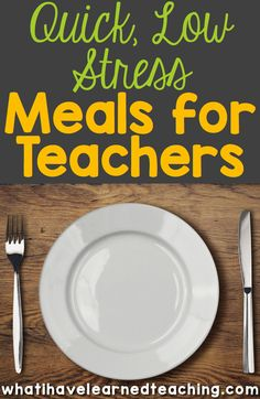Are you ready to stress less at home?  Here are some perfect tips to make meal planning so much easier and less stress during the school year.  These are great ideas to help you streamline your cooking and meal planning process at home.